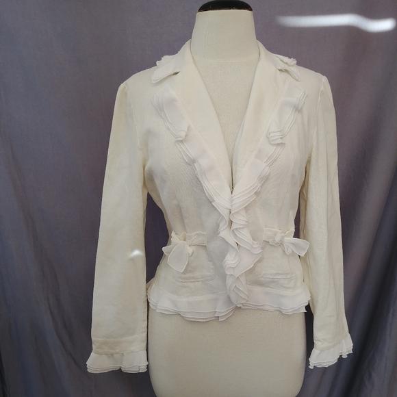 Anne Carson linen blazer